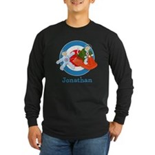 Personalised Space Cats Long Sleeve T-Shirt