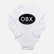 Outer Banks NC Long Sleeve Infant Bodysuit