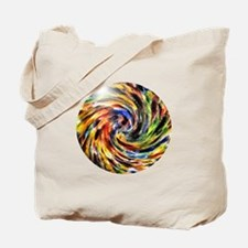 twirly stain glass Tote Bag