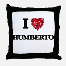 I Love Humberto Throw Pillow