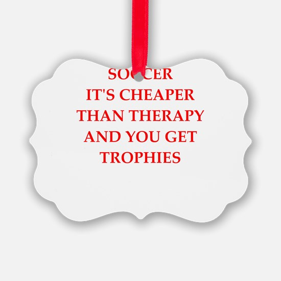 soccer gifts Ornament