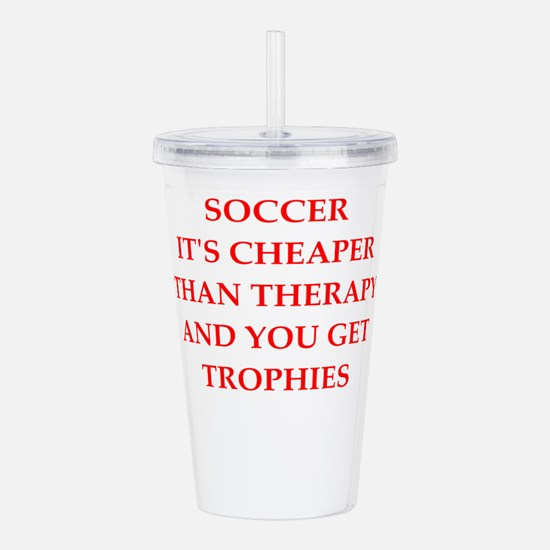 soccer gifts Acrylic Double-wall Tumbler