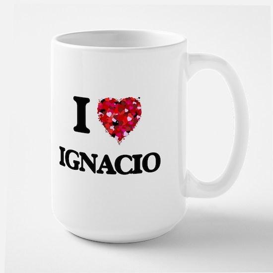 I Love Ignacio Mugs