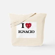 I Love Ignacio Tote Bag