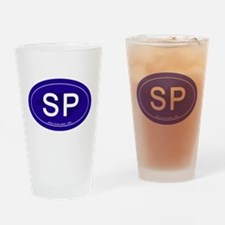 Southport NC Drinking Glass
