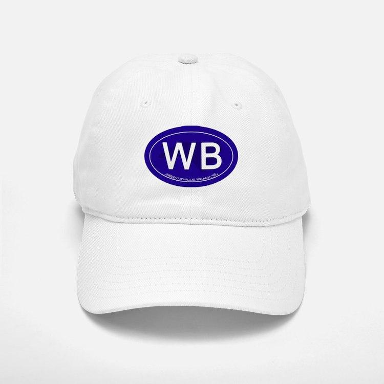 Wrightsville Beach NC Baseball Baseball Cap
