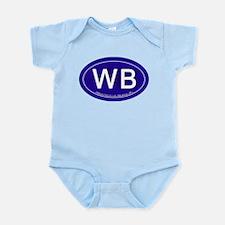 Wrightsville Beach NC Infant Bodysuit