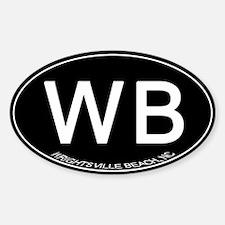 Wrightsville Beach NC Decal