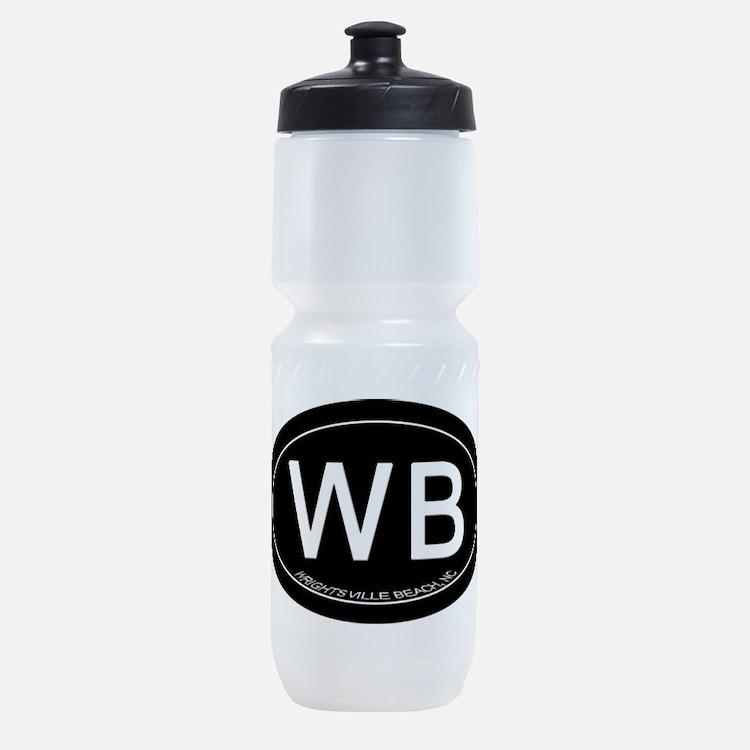 Wrightsville Beach NC Sports Bottle