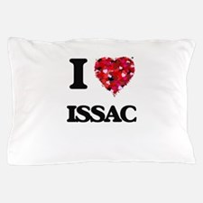 I Love Issac Pillow Case