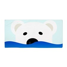 Arctic Bear Beach Towel