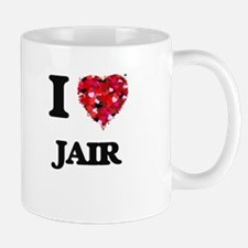 I Love Jair Mugs