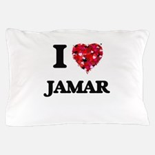 I Love Jamar Pillow Case