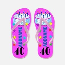 Splendid 40th Flip Flops