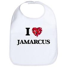I Love Jamarcus Bib