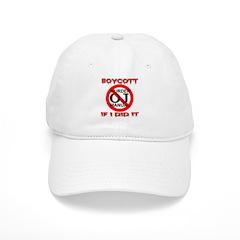 Boycott OJ Murder Manual If I Baseball Cap