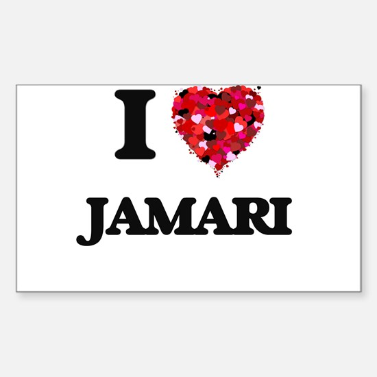 I Love Jamari Decal