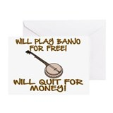 Banjo Greeting Cards