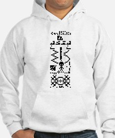 Arecibo Binary Message Answer Reply Jumper Hoody