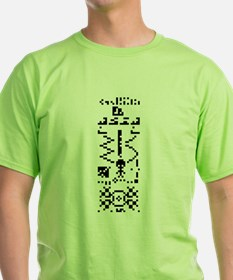 Arecibo Binary Message Answer Reply T-Shirt
