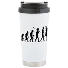 Cute Darwin joke Travel Mug