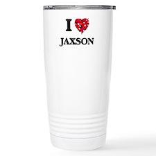 I Love Jaxson Travel Mug