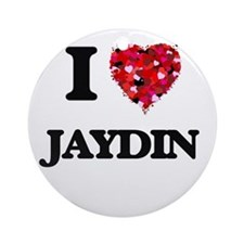 I Love Jaydin Ornament (Round)