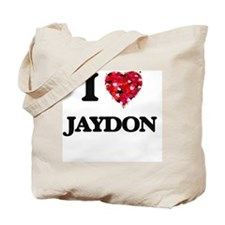 I Love Jaydon Tote Bag
