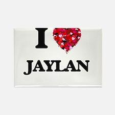 I Love Jaylan Magnets
