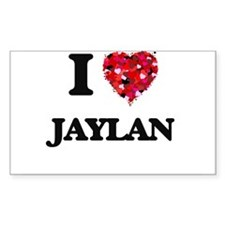 I Love Jaylan Decal