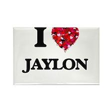 I Love Jaylon Magnets