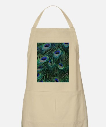 Peacock Feathers Apron