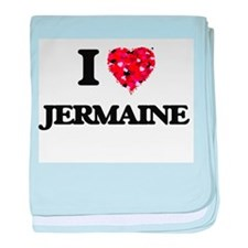 I Love Jermaine baby blanket