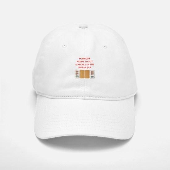 mahjong joke Baseball Baseball Baseball Cap