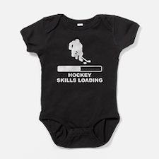 Hockey Skills Loading Baby Bodysuit