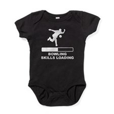 Bowling Skills Loading Baby Bodysuit