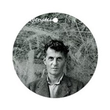Wittgenstein Round Ornament
