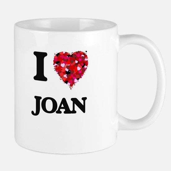 I Love Joan Mugs