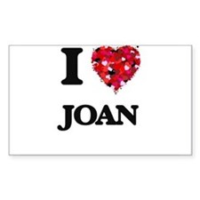 I Love Joan Decal