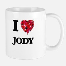 I Love Jody Mugs