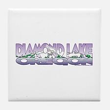 NEW! Diamond Lake Tile Coaster