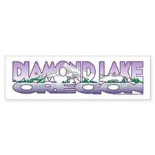 NEW! Diamond Lake Bumper Sticker