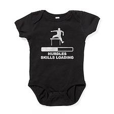Hurdles Skills Loading Baby Bodysuit