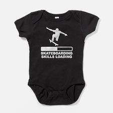 Skateboarding Skills Loading Baby Bodysuit