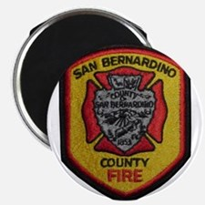 San Bernardino County Fire Magnets
