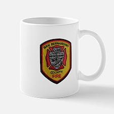 San Bernardino County Fire Mugs
