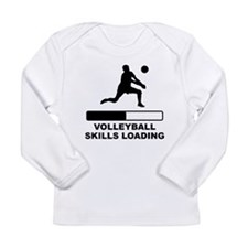 Volleyball Skills Loading Long Sleeve T-Shirt