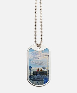 Jones Beach Boardwalk Dog Tags