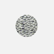 School of Bluefin Tuna Mini Button