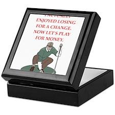 golf gifts Keepsake Box